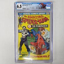 Amazing Spiderman #129 CGC 6.5 OWTW Pages 1st App. Punisher Marvel Comics 1974