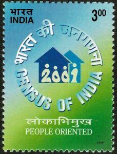 INDIA 2001 Indian Census Population MUH