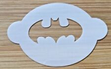 Face painting stencil reusable washable batman 190 Mylar 2.5 in x 1.75