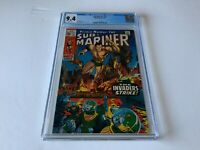 SUB-MARINER 21 CGC 9.4 WHITE PAGES THE INVADERS STRIKE! MARVEL COMICS 1970