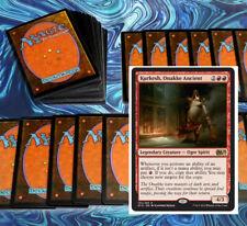 mtg RED KURKESH COMMANDER EDH DECK Magic the Gathering 100 cards verix dragons