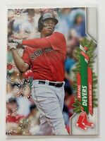 2020 Topps Holiday Rafael Devers SP Ornament #HW90 Boston Red Sox