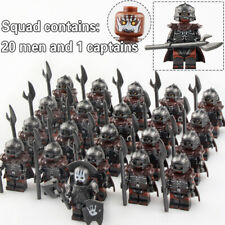 Commander + Orc Il Signore degli Anelli, Hobbit set 21 minifigure Lego* blocchi