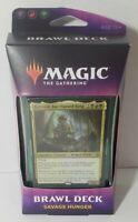 MTG Brawl Deck SAVAGE HUNGER Throne of Eldraine Magic the Gathering NEW SEALED
