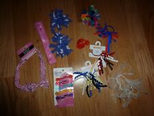 Girls Set of 10 Hair Accessories Headbands/Pony Tail Holders/Barrettes Gymboree