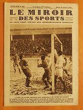 Le Miroir des Sports 466 du 22/1/1929-Coupe France-Stade Français-Marseille 4-1