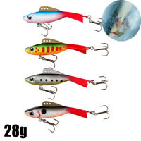 Minnow Winter Fishing Lure Crank Bait Hooks Bass Ice Fishing Crankbait Tackle