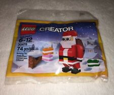 Lego Creator Santa 30478 Santa Building Toy Sealed Age 6-12 74 pc. 2017
