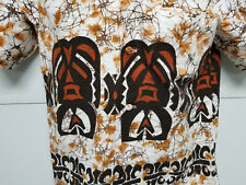 PACIFIC ISLE CREATIONS Vintage Hawaiian Shirt Tiki Free Shipping Mens