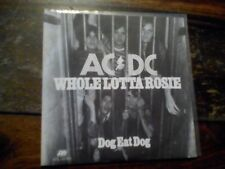 "AC/DC ACDC Whole Lotta Rosie 7"" vinyl dog eat dog NL 1977"