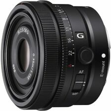 SONY full size compatible single focus lens SEL50F25G FE 50mm F2.5 G