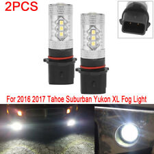 Fog Light LED Bulb For Chevrolet Suburban Tahoe GMC Yukon XL16-17 6000k 2X