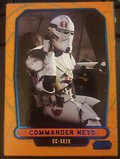 Topps Star Wars 2013 Galactic Files 2 #456 Commander Neyo BLUE #d 056/350