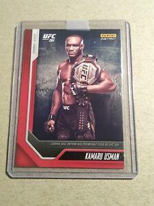 KAMARU USMAN - 2021 Panini Instant UFC Card 5 - PRINT RUN: 796