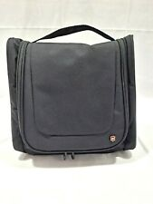 Victorinox Swiss Army Hanging Toiletry Travel Bag Kit Multi-Compartment Zipper