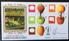 GREGG WALLACE, TV Masterchef Signed 7.3.2006 Fun Fruit 'N' Veg FDC Mary Iverson