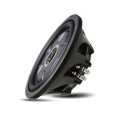 "PowerBass XL-1040T 700 W Max 10"" Single 4-Ohm Shallow Mount Car Audio Subwoofer"
