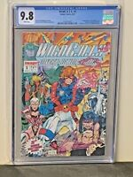WildC.A.T.S. #1 9.8 NM/MT First Appearance Jim Lee Art 92 Image Comics CGC