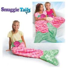 Snuggie Tails Pink Mermaid Blanket for Kids Soft and Cuddly New in Box