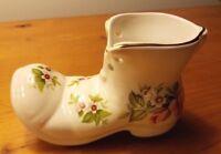 VTG STAFFORDSHIRE Ceramic Shoe OLD FOLEY James Kent Ltd. Harmony Rose England