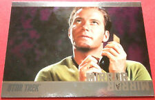 "STAR TREK TOS 50th Anniversary - MM2 ""MIRROR, MIRROR"" (uncut) - Foil Chase Card"
