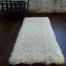 """WAREHOUSE SALE: THE BEST 2' X 3' FLOKATI MADE. SPECTACULAR 4""""PILE. FREE SHIPPING"""