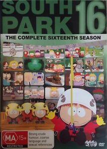 SOUTH PARK Season 16 : NEW DVD