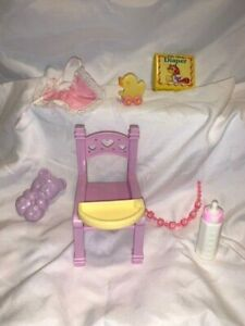 1980's My Little Pony Hasbro nursery accessories baby