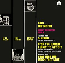 Anthony Newley - Fool Britannia/Scandal/Stop the World/TW3 Soundtracks (CD)  NEW