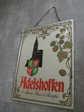 Old Mirror Vintage Pub beer french bar adelshoffen bière miroir publicitaire vtg