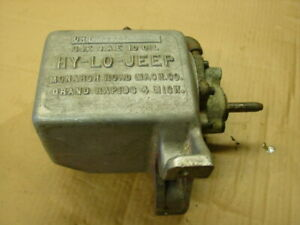 UHT Vintage HY-LO-Jeep Meyer Monarch JACK snow Plow pump Model UHT23139J Willys