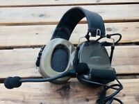 Z Tactical COMTAC 2 Military Style Headset w/ Noise Reduction Headset - FG Z041