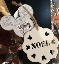 ORNT / Ornament NOEL PORCELAINE / Porcelain Christmas Disneyland Paris