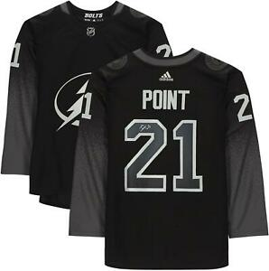 Brayden Point Tampa Bay Lightning Signed Black Alternate Adidas Authentic Jersey