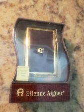 Etienne Aigner Mini Magnetic Address Book New  Free Shipping