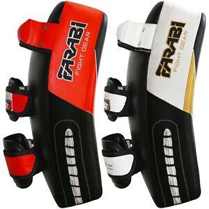 Farabi Kick Shield Thai pad MMA Muay Thai Shield Curved Thai Pads