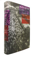 Suketu Mehta MAXIMUM CITY Bombay Lost and Found 1st Edition 7th Printing