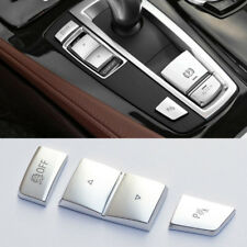 Car Central Gearshift Panel Buttons Decor Cover Trim For BMW X3 X4 5/6/7 series