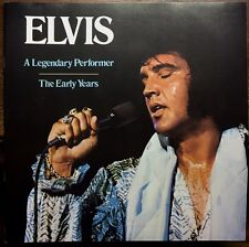 Elvis Presley *A Legendary Performer* / The Early Years Rca Records Release