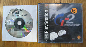 Gran Turismo 1 & 2 (Sony PlayStation 1 PS1) Bundle Lot - Tested - Free Shipping