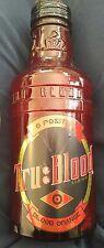 """TRU BLOOD """"BLOOD ORANGE"""" CARBONATED SODA, """"O-Positive"""" 14 Fl. Oz Bottle 2011"""