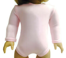 "Light Pink Gymnastics Leotard made for 18"" American Girl Doll Clothes"
