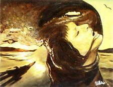 """""""Day and Night"""" - Art, Painting, Giclee on Canvas 19""""x14"""" LTD by Yelena Berzon"""
