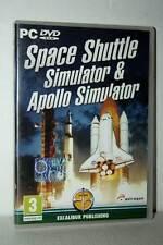 SPACE SHUTTLE SIMULATOR & APOLLO SIMULATOR USATO PC DVD VER ITALIANA FR1 50092