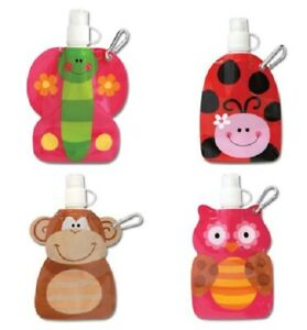 Party Bag Toys Gifts 9 Girls Boys Kids Childrens Little Squirts Pouches Animals