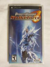 Dynasty Warriors: StrikeForce (PlayStation Portable, PSP) Brand New, Sealed~