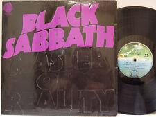 BLACK SABBATH - Master of Reality LP (RARE 2nd UK Pressing on VERTIGO w/Box Cvr)
