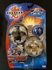 Bakugan Battle Brawlers New Vestroia Starter Pack Japan Primo Vulcan Hades RARE!