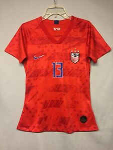 NEW Team USA Alex Morgan # 13 Youth Soccer Nike Jersey Size Large New w/o Tags