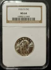 1926-D STANDING LIBERTY QUARTER - NGC - MS 64 - #005